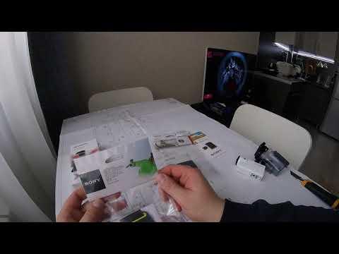 Sony As 300 Распаковка и плюшки.