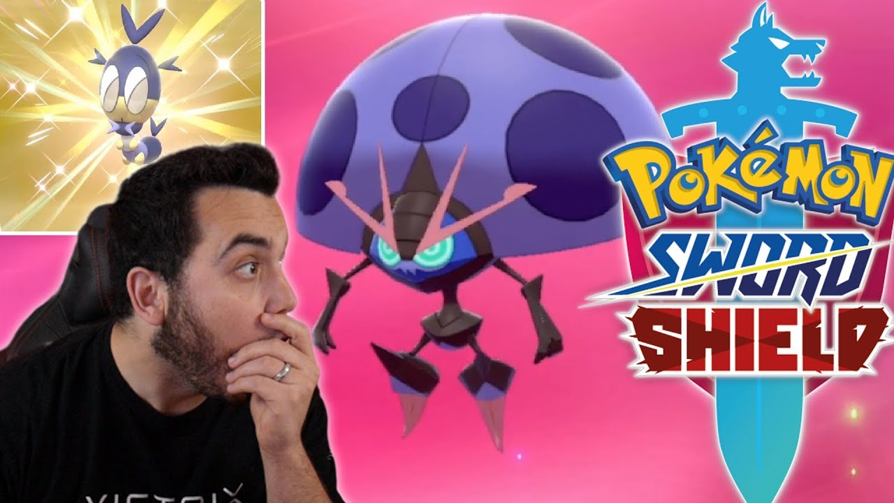 THE BEST SHINY in THE GAME! SHINY ORBEETLE REACTION in Pokemon Sword and Shield!