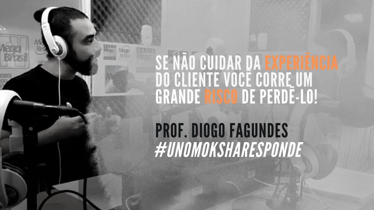 Entrevista: O que é experiência do cliente e a gestão da experiência | Prof. Diogo Fagundes