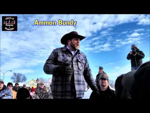 Ammon Bundy calls for the takeover of the Malheur Refuge