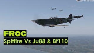 Spitfire Vs. Ju88 & Bf110 - IL-2 Sturmovik: Cliffs of Dover Blitz Edition
