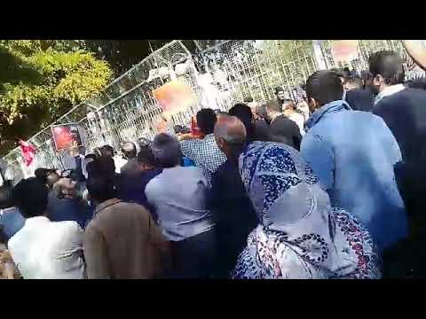 Padideh Shandiz depositors protest in Mashhad- Oct. 25, 2018
