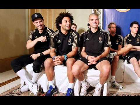 Cristiano Ronaldo with Real Madrid in Kuwait 2012
