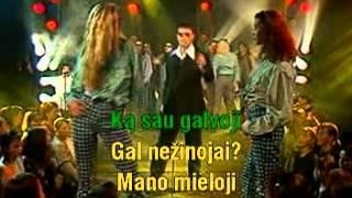 Tomas Augulis - Pasimatymas (Mh-Aha) Karaoke versija