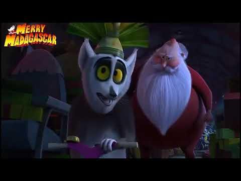 Смотреть мультфильм мадагаскар новогодний мадагаскар