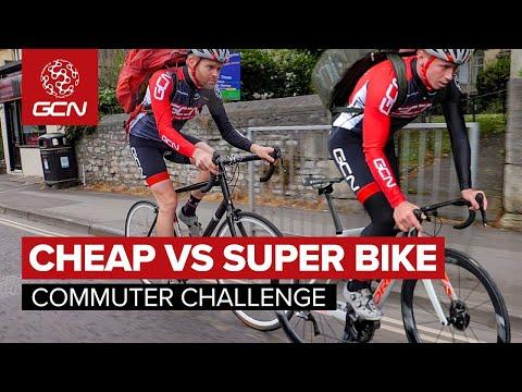 Cheap Bike Vs Super Bike | Commuter Challenge