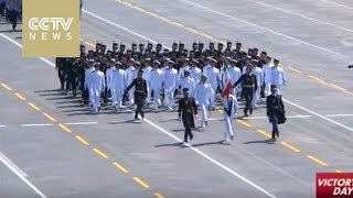 Formations and delegations from 17 countries took part in V-Day parade