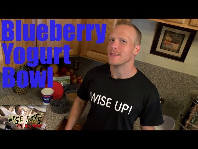 Wise Eats - Blueberry Yogurt Bowl – High Protein, Healthy Greek Yogurt Snack Parfait
