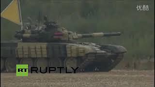 Video T-72 vs ZTZ-96A firing on the move and fire-control comparison - Russian Tank Biathlon download MP3, 3GP, MP4, WEBM, AVI, FLV November 2018