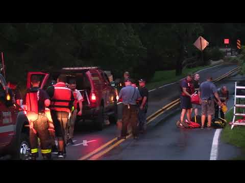 Lower Saucon Township, Pa Water Rescue 8/11/18