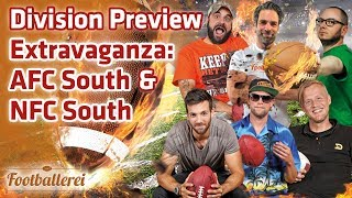 Division Preview Extravaganza: AFC South & NFC South | Footballerei