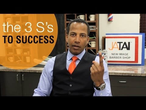 Barbers: Know The 3 S's To Success?