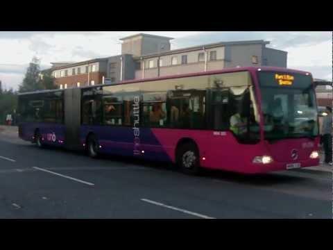 Uno Shuttle buses: University of Hertfordshire (Mercedes-Benz Citaro articulated)