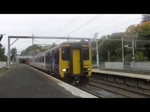 Northern 156482 on 5S00 & 5E00 ECS moves to/from Glasgow Works, Springburn