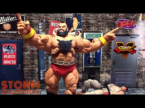 Storm Collectibles   Street Fighter V • ZANGIEF • Video Review en Español