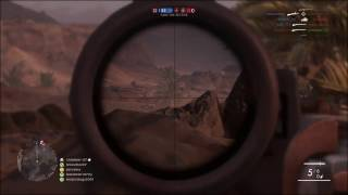 battlefield 1 sniper 33 kill streak 25 kills in 5 minutes