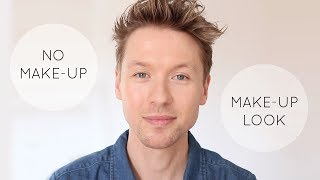 Natural Makeup Look with Natural Cosmetics // RMS // Absolution for Men & Women