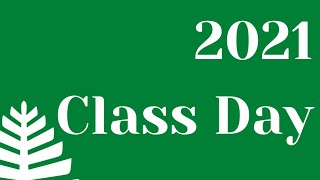 Class Day 2021