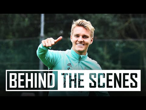 Preparing to face Burnley | Behind the scenes at Arsenal training centre