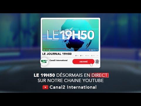 LE JOURNAL 19H50 du Jeudi 18/02/2021 - Canal 2 international