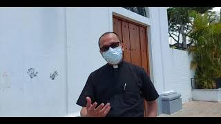 Responso Padre Julio de los Santos Dávila