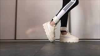 puma ankle strap creeper