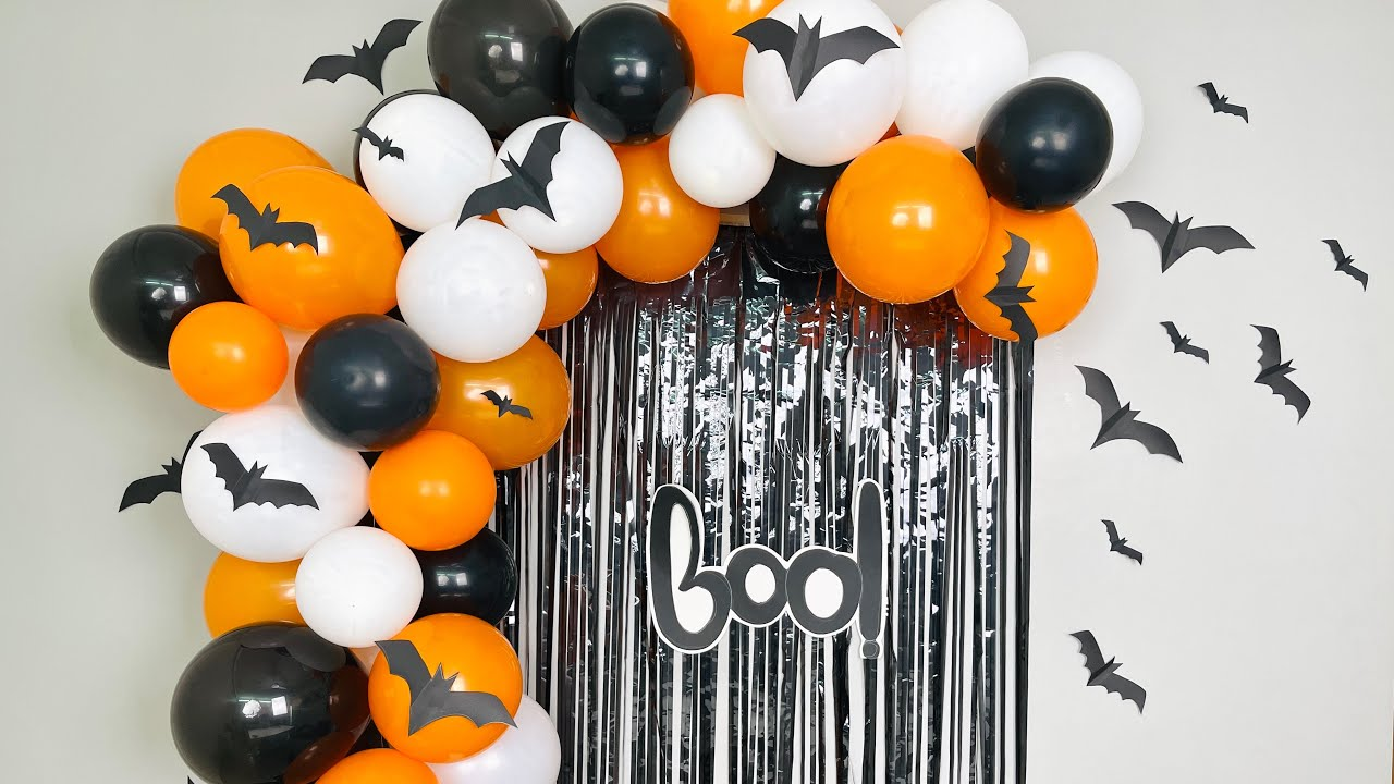 Halloween Party Decoration at home