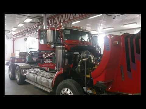 CAT C18 Engine TurboMS launch control Semi Truck pulling