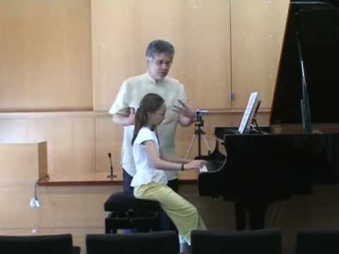 Masterclass Alan Weiss (Mozart sonata in C, K 545) - 1