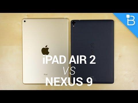 Apple iPad Air 2 vs Google Nexus 9!