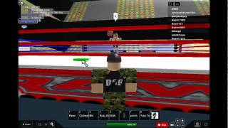 Roblox wwe smackdown vs raw 2011