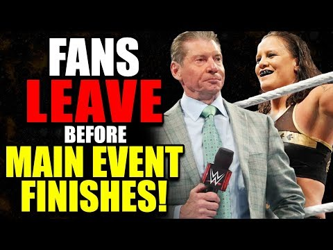 Fans LEFT Before WWE Elimination Chamber 2020 Main Event Finished!