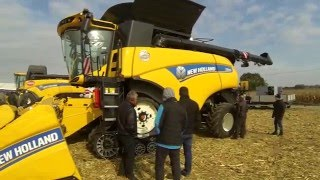 Kukurydza 2015 - New Holland CR 10.90//Bizon Rekord Z058