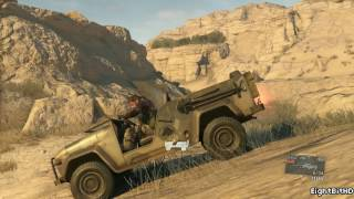 Metal Gear Solid V: The Phantom Pain - Free Roam Gameplay