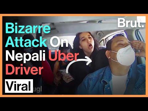 Anti-Maskers Abuse Nepali Uber Driver