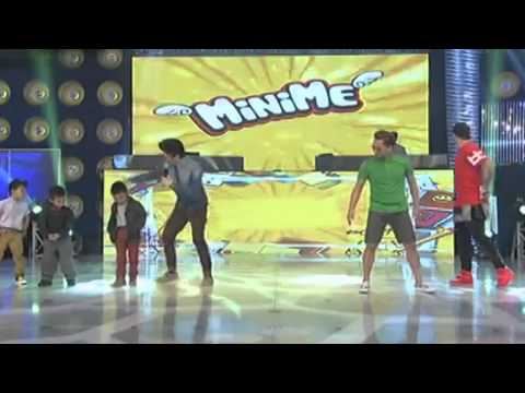 Vhong Navarro Jhong Hilario Billy Crawford in MiniMe showdown HD