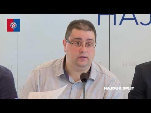 Konferencija za medije Hajduka,Našeg Hajduka i Torcide