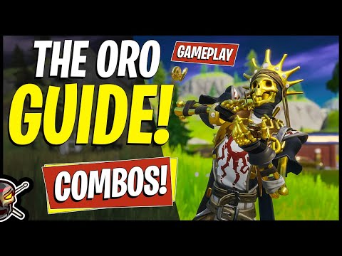 The ORO Guide In Fortnite! Combos + Gameplay! Free Wrap And Harvesting Tool!