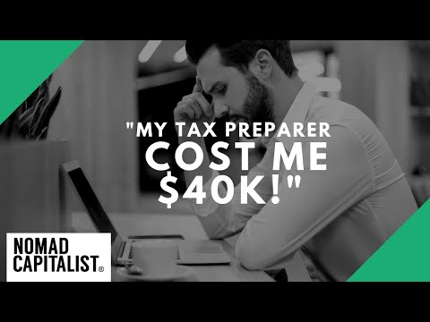 """""""My Tax Preparer Cost Me $40K!"""""""