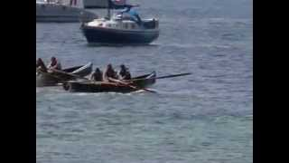 Currach Races at the Clifden Regatta