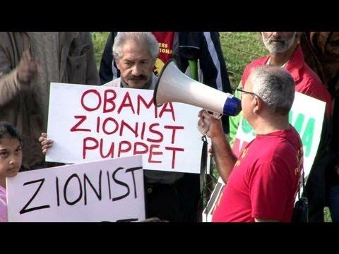 Le Cap: des manifestants s'opposent à la visite d'Obama