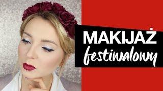Makijaż Festiwalowy Look z Coachella ❤️ KAROLINA ❤️