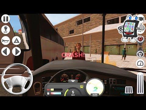 BUS SIMULATOR MIT KAAN ALS FAHRER! Coach Bus Simulator! App Deutsch Let's Play! Spiel mit mir Apps |