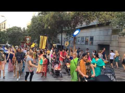 Madrid news Ratha Yatra 2016
