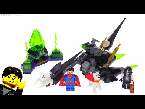 LEGO DC Super Heroes Superman & Krypto Team-Up review! 76096