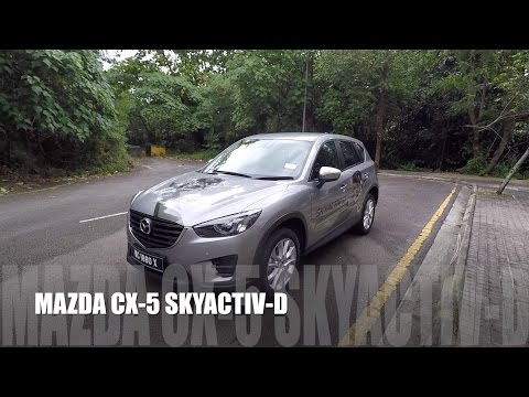 2017 Mazda CX-5 SkyActiv-D 2.2 Litre Diesel Full In depth Review Malaysia
