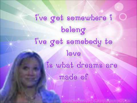 Hilary Duff What Dreams Are Made Of Letra/Lyrics