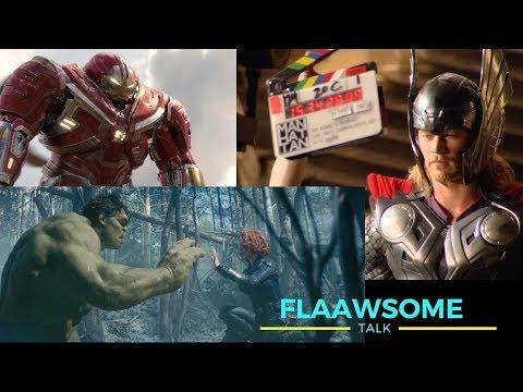 'AVENGERS' directors explaining Fake Scenes And Other Script Secrets (INFINITY WAR interview)