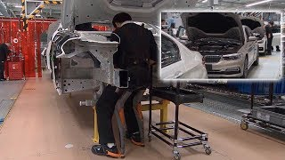 BMW 5 Series Vehicle Production in China 2017