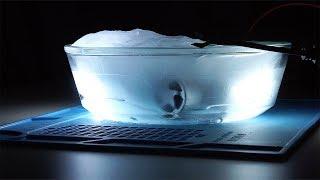 Что будет, если заморозить автомобильные Led лампы